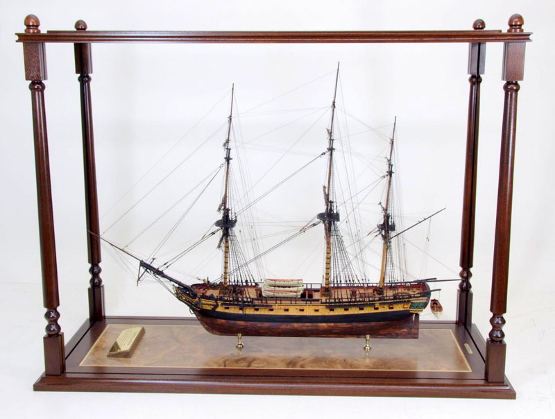 Ship Model Display Cases | Ship Models by American Marine Model Gallery